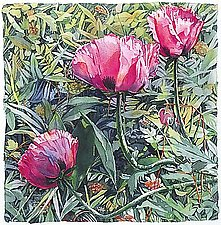 Poppies by Marlies Merk Najaka (Giclee Print)