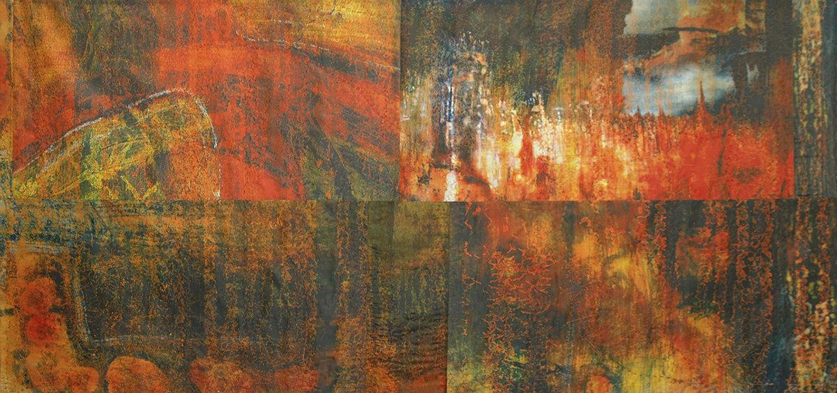 Ritual Cloth IV by Joanie San Chirico (Fiber Wall Art)