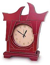 Clock No.4 by Vincent Leman (Wood Clock)