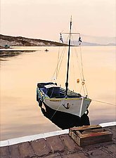 Aegean Sunset by Laurie Regan Chase (Giclee Print)