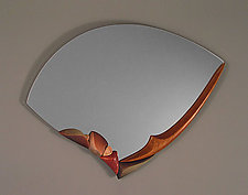 Water Song by Jan Jacque (Ceramic & Wood Mirror)