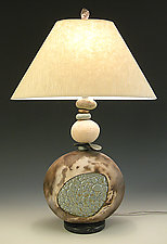 Marsh Mellow Lamp by Jan Jacque (Ceramic Table Lamp)