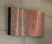 Patterns of Nature II by Linda Leviton (Copper Wall Sculpture)