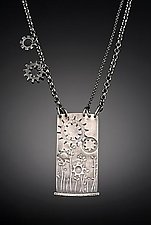 Field Necklace by Tavia Brown (Silver Necklace)