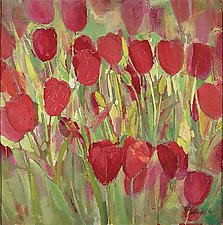 April Tulips by Sarah Samuelson (Giclee Print)