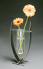 Hanging Lake Vase by Ken Girardini and Julie Girardini (Metal Vase)