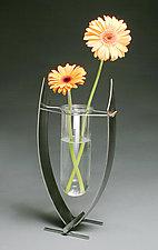 Hanging Lake Vase by Ken Girardini and Julie Girardini (Metal Vase)