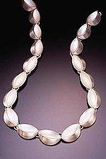 Elipse Link by Lisa Slovis (Silver Necklace)