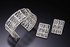 Bamboo Bracelet by Randi Chervitz (Silver Bracelet)