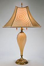 Virginia by Susan Kinzig and Caryn Kinzig (Mixed-Media Table Lamp)
