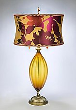 Gabriella by Susan Kinzig and Caryn Kinzig (Mixed-Media Table Lamp)