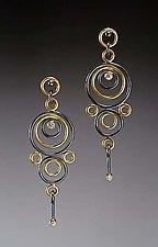 Hyppolyta Earrings by Ben Neubauer (Gold, Silver & Stone Earrings)