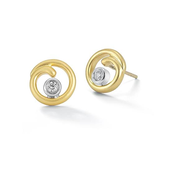 Curl Stud Earrings