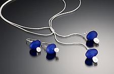 Baroque Bead & Pearl Earrings by Eloise Cotton (Glass Bead & Pearl Earrings)