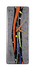 Colorwave by Nina  Cambron (Art Glass Clock)