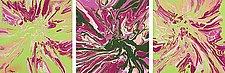 Camellias by Cassandra Tondro (Acrylic Painting)