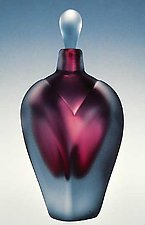 Overlay Perfume by Jonathan Winfisky (Art Glass Perfume Bottle)