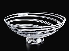 Wedding Series Cane Bowl by Nicholas Kekic (Art Glass Bowl)
