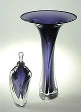 Blown Glass Perfume Bottle by Jonathan Winfisky (Art Glass Form)