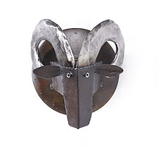 Ram's Head by Ben Gatski and Kate Gatski (Metal Wall Sculpture)