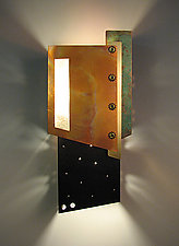 Lautner Sconce by Dale Jenssen (Metal Sconce)