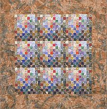 Earth Quilt #84: Celebration Of Life XIX by Meiny Vermaas-van der Heide (Art Quilt)