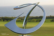 Counterpoint by James T. Russell (Steel Sculpture)
