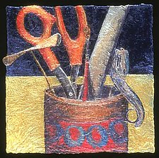(quotidian) - tools by Karen Urbanek (Fiber Wall Hanging)