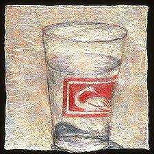 (quotidian) - water by Karen Urbanek (Fiber Wall Piece)