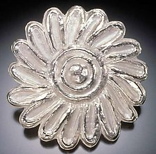 Wild Flower by Eva Seid (Silver Brooch)