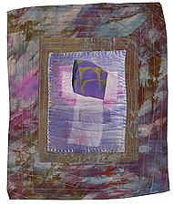 Mixed Messages 5 by Joanie San Chirico (Fiber Wall Art)