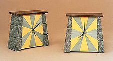 Tic  and Tock by Jamie Robertson (Wood Clock)
