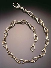 Figure 8 Link by Lisa Slovis (Silver Necklace / Bracelet)