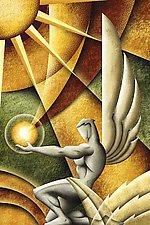 Dieu de Soleil by M. Kungl (Iris Print)