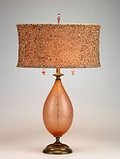 Margie by Susan Kinzig and Caryn Kinzig (Mixed-Media Table Lamp)