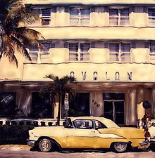 Avalon, South Beach by Julie Betts Testwuide (Color Photograph)