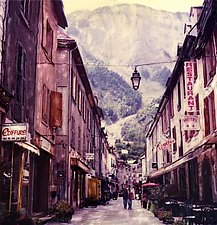 French Alps by Julie Betts Testwuide (Color Photograph)