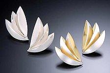 Bird of Paradise Earrings by Thea Izzi (Silver Earrings)