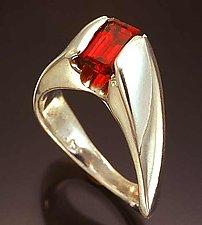 Ergonomic Ring by Lisa Slovis (Silver Ring)