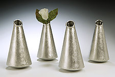 Cone Vase by Lisa Slovis (Metal Vase)