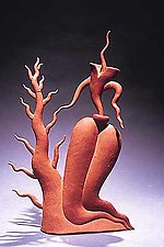Burning Bush by Michael Torre (Ceramic Teapot)
