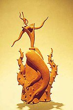 Dancing through the Forest of Thorns by Michael Torre (Ceramic Teapot)