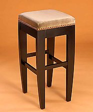 Tusk Stool Without Back by Gregg Lipton (Wood Stool)