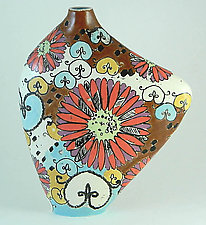 Sweet Eve Orla Vessel by Regina Farrell (Ceramic Vessel)
