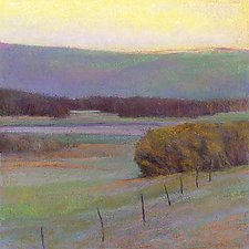 View to the Green Hill by Ken Elliott (Giclee Print)