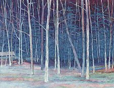 White Wood by Ken Elliott (Giclee Print)