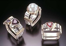 Rings by Idelle Hammond-Sass (Silver & Gold Rings)