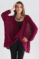 Long Sleeve Twist Front Sweater by Amy Brill Sweaters  (Sweater)