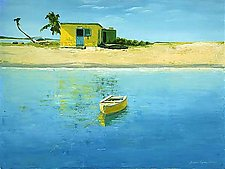 Caribbean Gold by Laurie Regan Chase (Giclee Print)