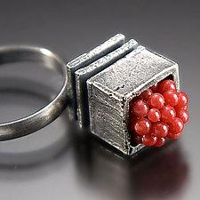 Juicy Ring by Aleksandra Vali (Silver & Stone Ring)